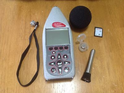 3M Quest SoundPro DL ,Type 2 Datalogging Sound Level Meter  with Case