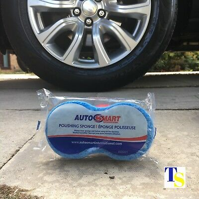 6 x Autosmart Polishing Sponge for cars (Intense effective polish GENUINE)