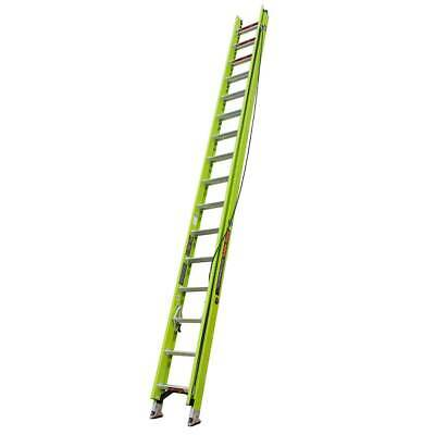 Little Giant 17532 32-Foot Type IAA HyperLite Ladder w/ Cable Hook, V-rung, Claw