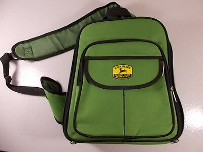 New John Deere Backpack Picnic Pack Coffee Portable Bar Lunch Box Stainless Cups