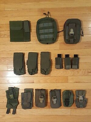Lot of MOLLE Pouches Eagle Industries Misc