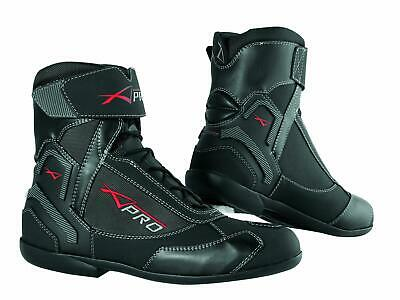 Winter Motorbike Motorcycle Breathable Waterproof Leather Boots A-PRO Black 42