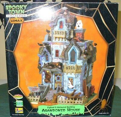 Lemax Spooky Town Halloween village Abandoned House