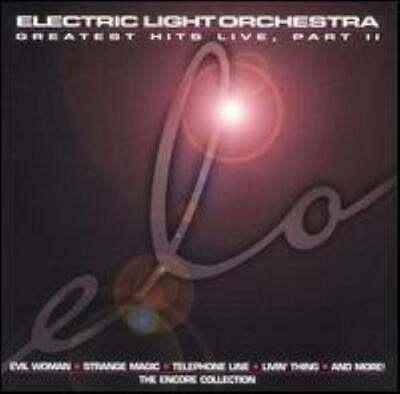 Elo : Greatest Hits Live, Part II: The Encore CD