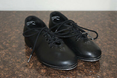 Black Techno Tap Kids shoes, Rarely used