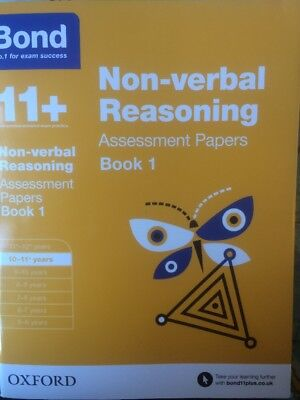 Bond 11+ Plus Non-verbal Reasoning Assessment Papers Age 10-11 Book 1