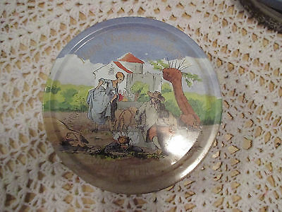 """7--  BISCUIT  TIN   7  1/2  """"  x  2  1/2    """"  High  ---IN  GOOD ORDER"""