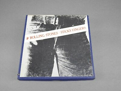 Vintage 4 Track 7 1/2 Ips Rolling Stones Sticky Fingers Reel To Reel Tape