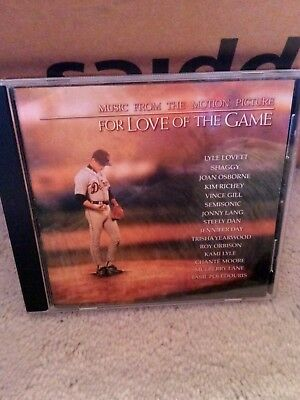 For Love of the Game Music From The Motion Picture Soundtrack CD 1999 MCA