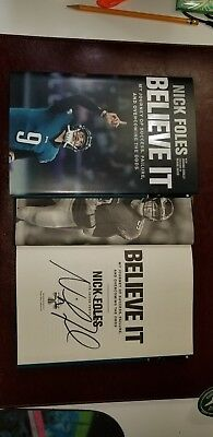 9bfa0de1b45 Nick Foles Signed Book