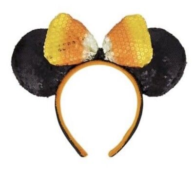 presale disney parks candy corn halloween minnie ears headband new 2018
