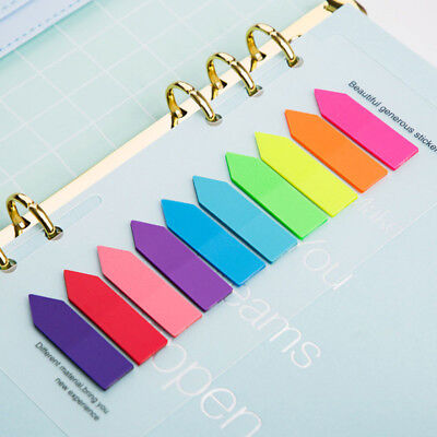 Mini Skater 1 Sets Rainbow Colors Creative Index Tabs Label Cute Memo Paper Note