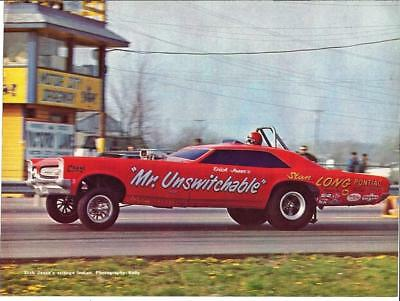 """1967 GTO """"Mr Unswitchable"""" Funny Car Photo/ Dick Jesse"""