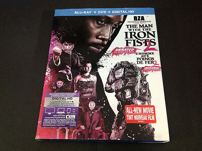 The Man With The Iron Fists 2 ( Blu-Ray + Dvd )  Rza