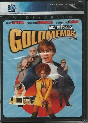 Austin Powers in Goldmember - Widescreen, 2004, New Sealed, InfiniFilm