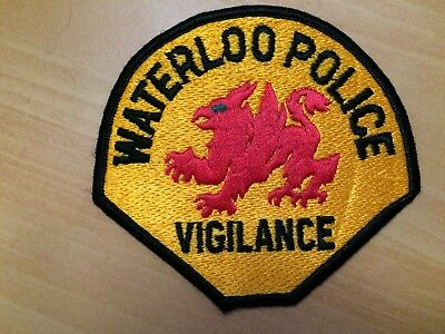 Collectible Waterloo Police Iowa Patch