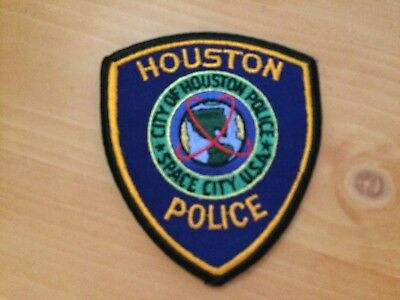 Collectible Houston, Texas Police  Patch