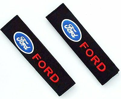 Car Safety Seat Belt Shoulder Comfortable Pads Covers Cushion For Ford Set of 2