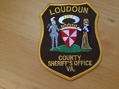 Collectible Loudoun County Virginia  Sheriff Police Patch