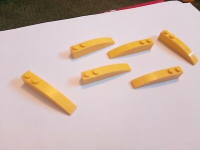 Curved x 6 Part 42023 Choose colour! Lego 1x6 inverted slope brick with Curve