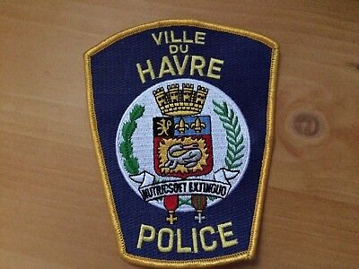 Collectible  Ville Du Havre Montana Police Patch