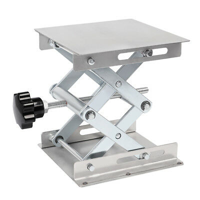 "6"" 8"" Stainless Steel Lifting Platforms Lab-Lift Stand Rack Scissor Lab Jack"