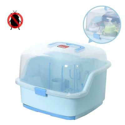 Environmental PP material Large BABY BOTTLE Dust Proof DRYING RACK STORAGE Box