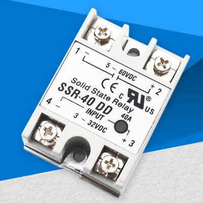 Solid State Relay SSR-40DD 40A Input 3-32V Output 5-60V Temperature Controller