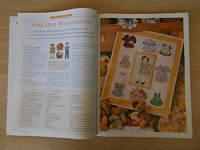 Patchwork & Stitching Vol 6 #2~Quilts~Dolls~Mermaid~Easter~Embroidery~Bag~Pillow