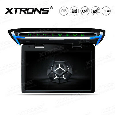 "Auto Deckenmonitor DVD Player 10,2"" Digital HDMI LCD USB SD Port FM IR Flipdown"