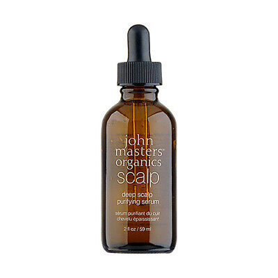 John Masters Organics Scalp Deep Scalp Purifying Serum 2oz, 59ml