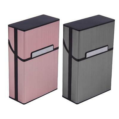 Aluminum Cigar Cigarette Case Tobacco Holder Pocket Box Storage Container New
