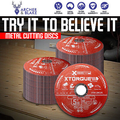 Xtorque Superior Quality Long Life Metal Cutting Discs Pack