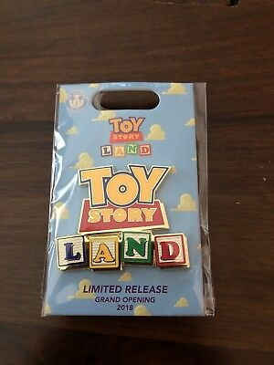 Disney Pixar Box Lunch Toy Story Land Grand Opening Limited Pin