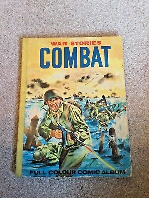 Combat #1 . War stories. Full colour comic album. Price reduced.