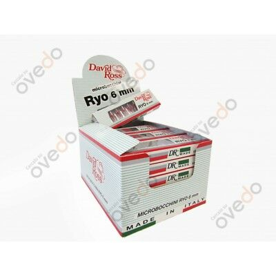 David Ross Ryo 6 mm 240 Microbocchini in 24 blister da 10 + Accendino