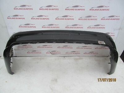 Mercedes C Class W204 2007-2011 Amg Sport Rear Bumper- Genuine