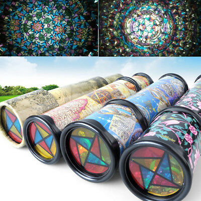 Classic Rotatable Kaleidoscope Kids Children Educational Science Toy Gift Suprem