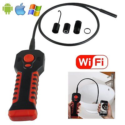 Handheld Inspection Camera Endoscope Borescope 6 LED iOS/ Android HD 20M WIFI