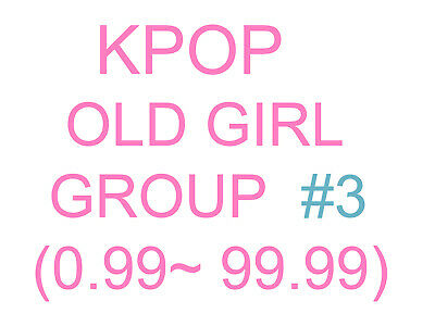 KPOP old girl group Promotion album SUPER SET 3 (Updating)