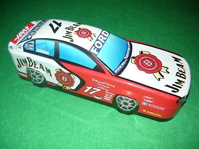 Limited edition 2007 Ford Jim Beam Johnson racing team collectible bar item