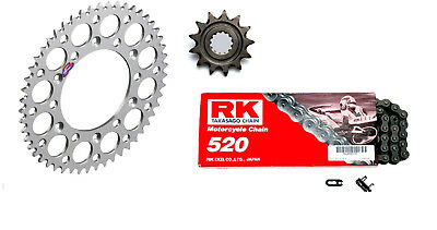 RK Chain Renthal Sil Sprocket Kit Gas Gas EC 200 250 300 FSE 400 450 XC 250 300
