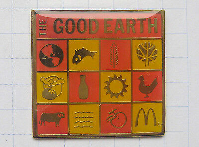 M / GOOD EARTH .............................Mc DONALD`s -Pin (101d)