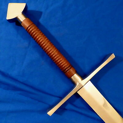 Massive Medieval Two-Handed (Zweihander) Long Sword -- The Real Deal
