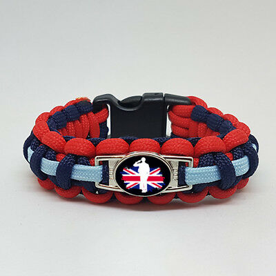 Supporting Our Armed Forces Bracelet Wristband with 10% going 2 Help For Heroes