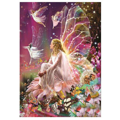 Diamond Painting 5D DIY Cross Stitch Embroidery Decor Fairy Home Butterfly Craft