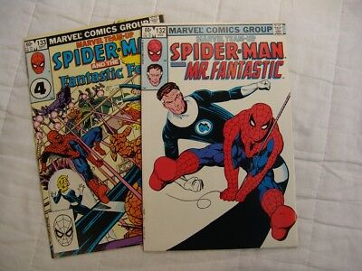 Spider-Man Marvel Team-Up 132, 133