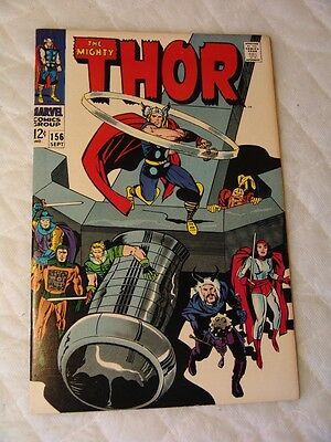 The Mighty Thor # 156