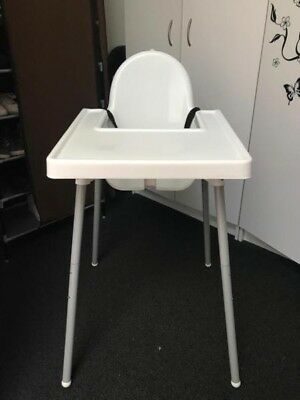 TODDLER HIGHCHAIR White - Very Good Condition