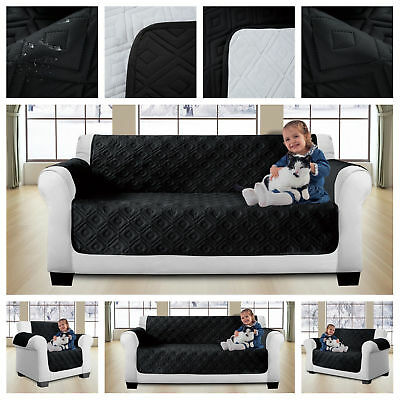 New Sofa Cover Throw Pet Protector Water Resistant Quilted Anti Slip